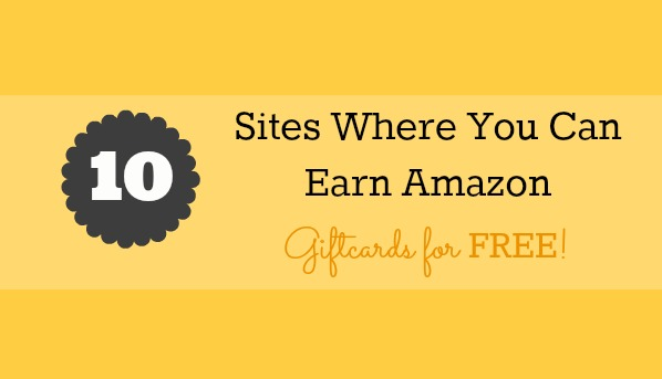 Untitled 10 Sites You Can Earn Amazon Gift Cards for FREE!